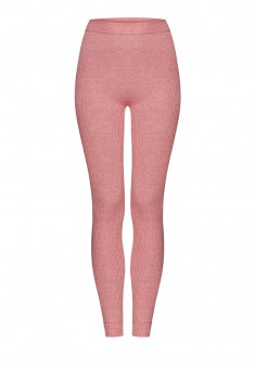 Textured Jersey Leggings pink melange