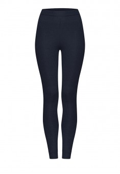 Textured Jersey Leggings blue