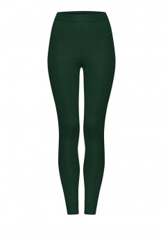 Textured Jersey Leggings emerald