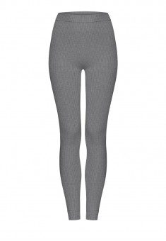 Long Jersey Leggings grey melange