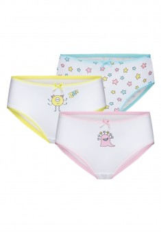 Little Monsters 3piece brief set for girls