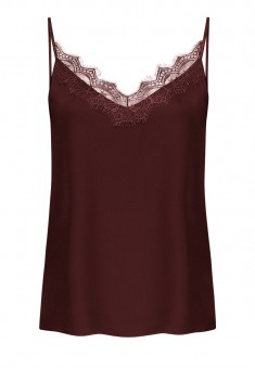 LaceTrimmed Top