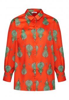 Блузка с богемным принтом