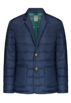 Утеплённый стёганый пиджак для мужчины