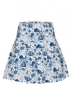 Girls Jersey Skirt multicolor