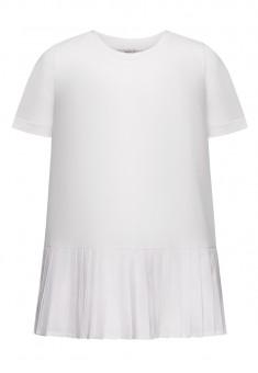 Girls Short Sleeve Jumper white