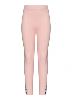 Girls Skinny Jersey Trousers pink