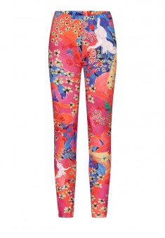 Womens Skinny Jersey Trousers multicolor