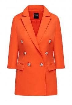 Жакет цвят червенооранжев