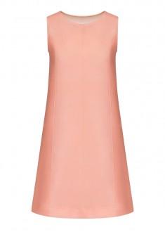 Платье из неопрена цвет светлорозовый