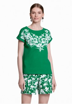 Printed Tshirt green