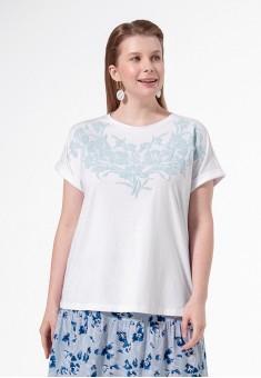 Printed Tshirt white