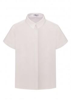 Womens Short Sleeve Blouse white