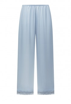 Satin Trousers blue