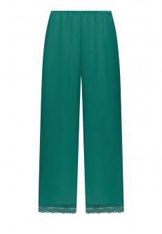 Satin Trousers green