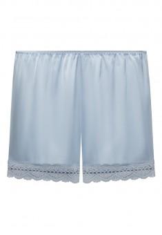Satin Shorts blue