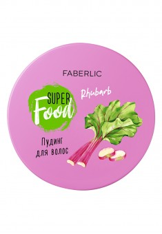SuperFood Rhubarb Hair Pudding Mask