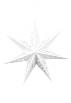 Star Decoration white