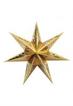 Star Decoration gold