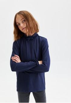 Girls Long Sleeve Jersey Jumper dark blue