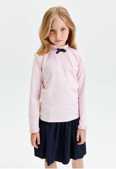 Girls Long Sleeve Jersey Jumper pale pink