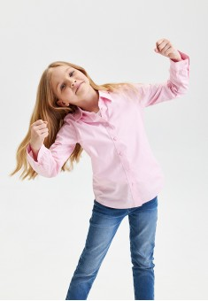Girls Blouse pale pink