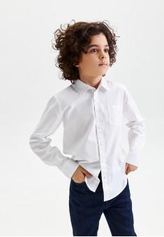Boys Long Sleeve Shirt white