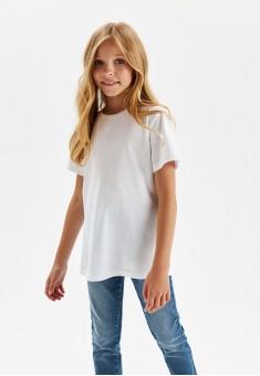 Girls Short Sleeve Tshirt white