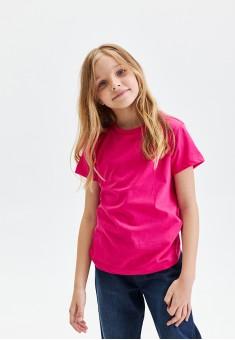 Girls Short Sleeve Tshirt fuschia