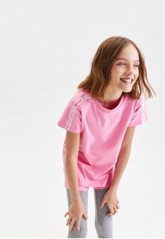 Girls Short Sleeve Tshirt pale pink