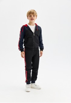 Boys French Terry Trousers with Decorative Trimming