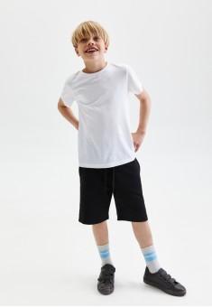 110B3402 трикотажные шорты для мальчика цвет черный