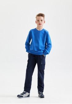 Брюки из футера и с карманами из текстиля для мальчика