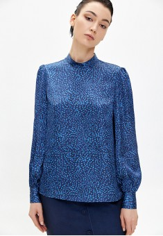 Printed Satined Blouse