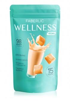 Κοκτέιλ πρωτεΐνης Wellness με ρύζι και αρακά Γεύση καραμέλα γάλακτος