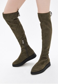 Nicole KneeHigh Boots khaki
