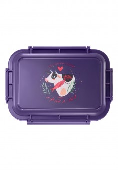 Cozy Moments Lunchbox purple