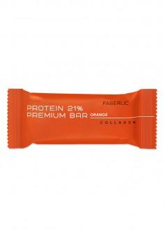 Μπάρα πρωτεΐνης Protein Premium Bar με γεύση πορτοκαλιού