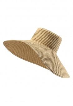 Шляпа женская цвет натуральный