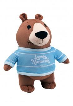 Мягкая игрушка  Малиновый мишка коллекция Lovely Moments