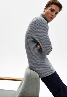 Джемпер для мужчины цвет серый меланж