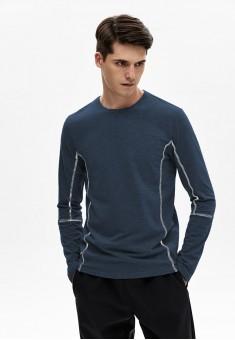 Джемпер для мужчины цвет темносиний