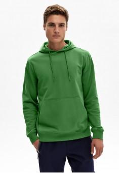 Толстовка для мужчины цвет зеленый
