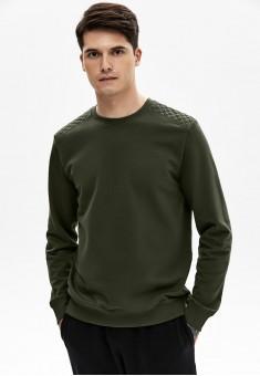 Джемпер для мужчины цвет хаки