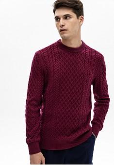 Джемпер для мужчины цвет бордовый