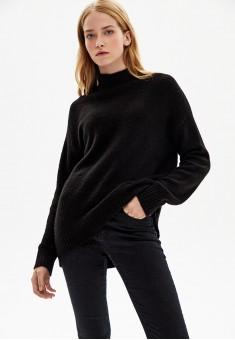 Вязаный джемпер цвет черный