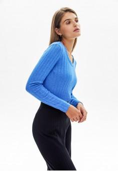 Джемпер цвет синий