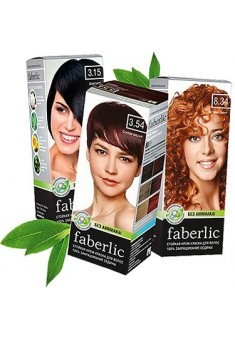 Faberlic permanent hair dye