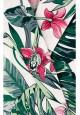 Платье с тропическим рисунком